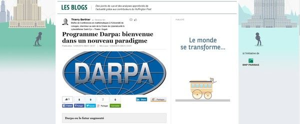 Paradigme DARPA - Huffington Post